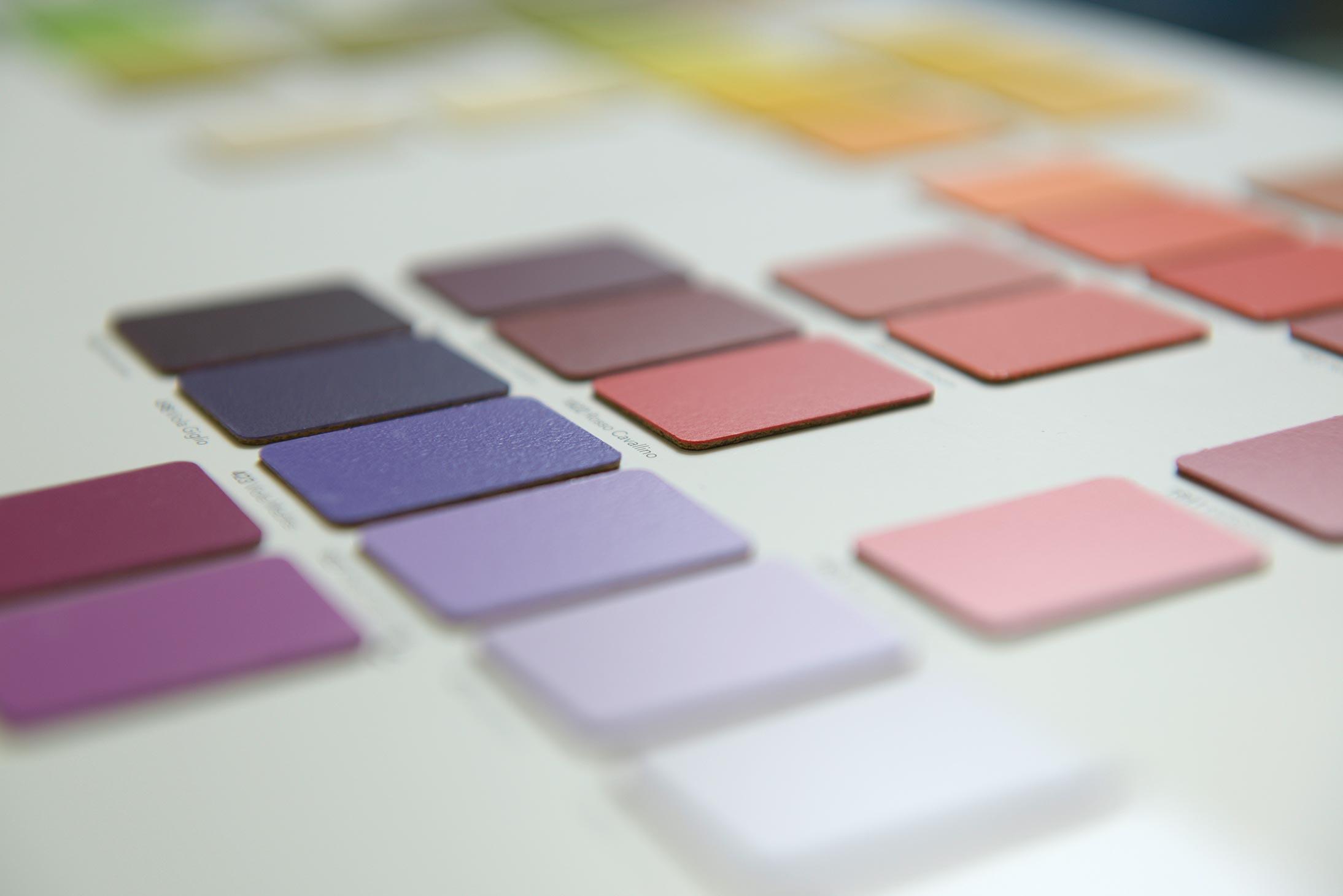 Cartelle colori laminati